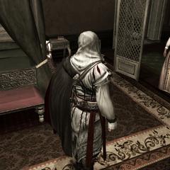 Ezio verzekert Claudia dat Maria zal herstellen.
