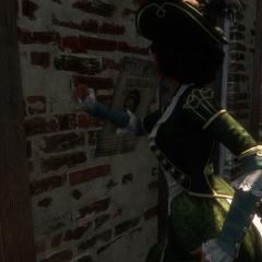 艾芙琳撕下一张通缉令