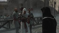 Altaïr zostaje unieruchomiony