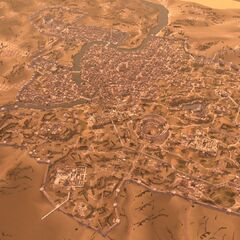 A bird's-eye view of Rome