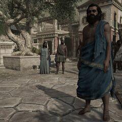 蘇格拉底在大瘟疫期間的雅典