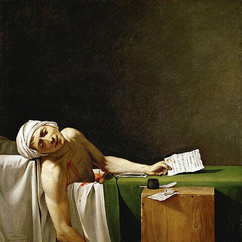 <i>La Mort de Marat</i> (1793)