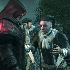 Emilio observant Jacopo essayer de raisonner Rodrigo
