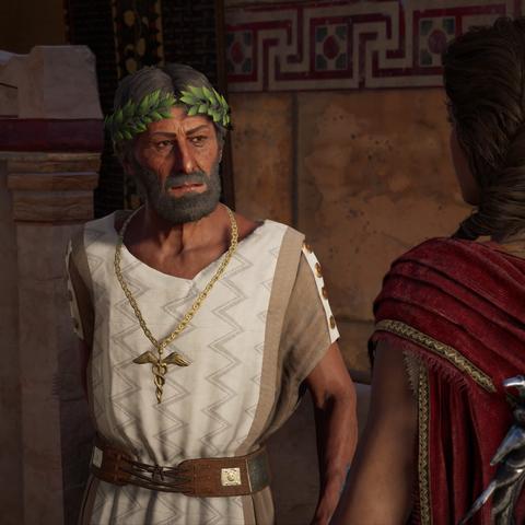 提摩克塞诺斯与卡珊德拉初次相遇