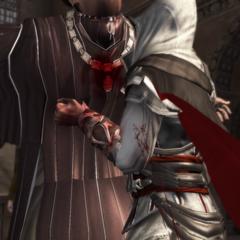 <b>Uberto Alberti</b> tué par Ezio fou de rage