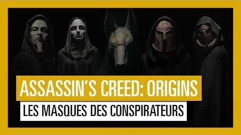 Assassin's Creed Origins Les masques des conspirateurs OFFICIEL VOSTFR HD-1