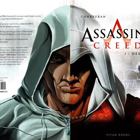 Assassin's Creed 1: Desmond full cover