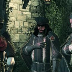 维耶里参加圣殿骑士宣誓
