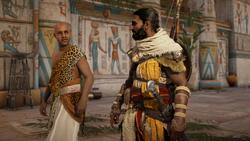 ACO Ambush in the Temple - Bayek Menehet Reunited