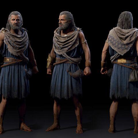 巴尔纳巴斯的人物模型