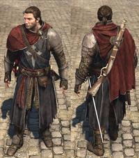ACRG Sir James Gunn's armour