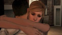 Lucy Desmond abbraccio