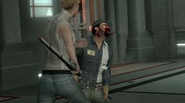 露西攻击保安