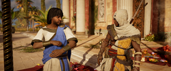 ACO Old Times - Bayek Finding Claridas