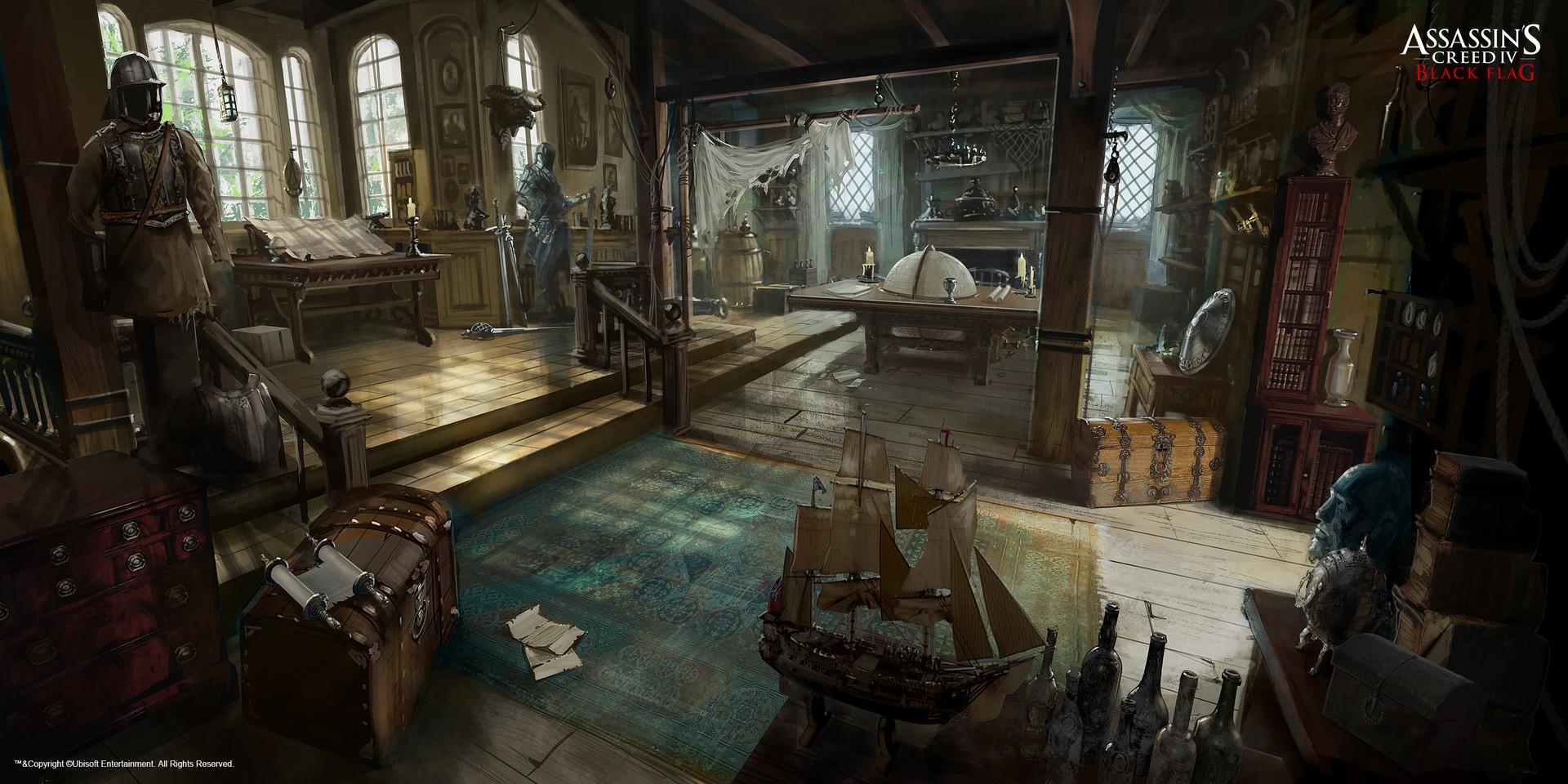 Assassin S Creed Iii Manor Kitchen