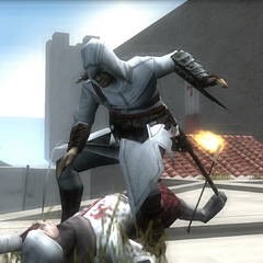 阿泰尔刺杀一名弓箭手