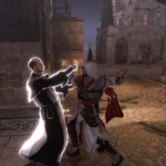 Ezio assassinant le maître