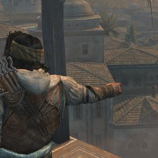 Ezio en Yusuf zien de <a href=