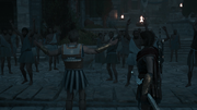 Kleon returns to arouse the mob
