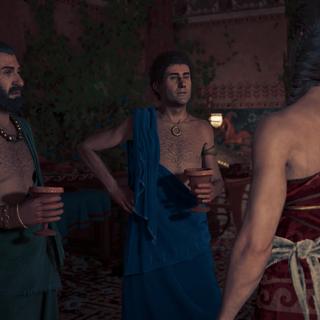 欧里庇得斯与阿里斯托芬和卡珊德拉