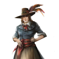 Concept art of Théroigne