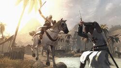 AC horseback charge
