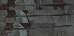 Altair sword evolution