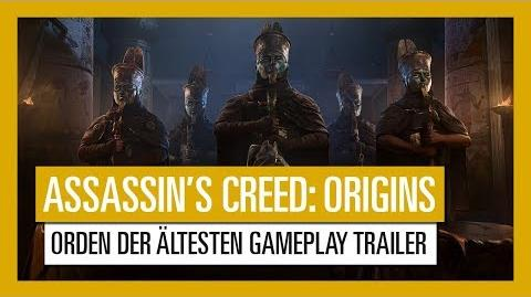Assassin's Creed Origins Orden der Ältesten Gameplay Trailer