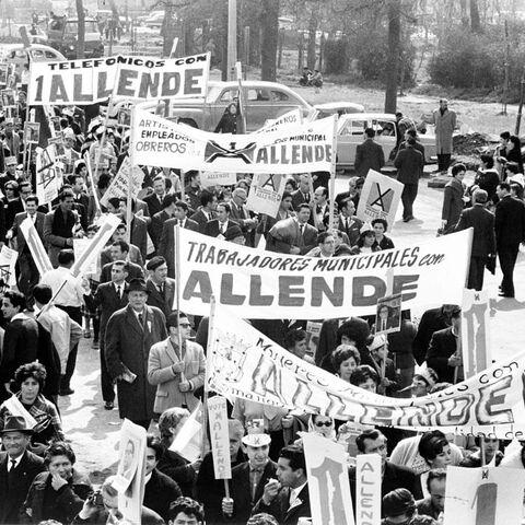 萨尔瓦多·阿连德在智利的支持者