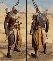 ACO Bayek's outfit