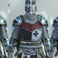 The Crusader's armors