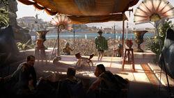 ACO Ptolemy in Alexandria Concept Art - Martin Deschambault
