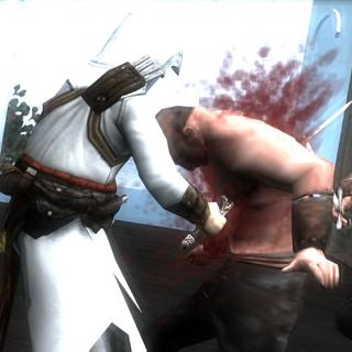 阿泰尔与守卫战斗