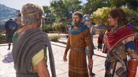 Kasandra, Herodot i Perykles na wzgórzu Pnyks