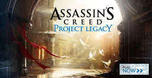 Project Legacy header