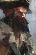 ACIV Pirate barbu concept