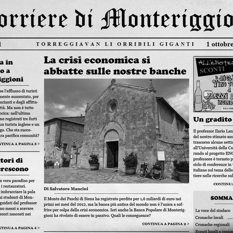 Le journal de Monteriggioni