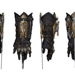刺客臂铠艺术设定