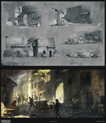 Assassin's Creed 2 Concept Art By Desmettre Page08