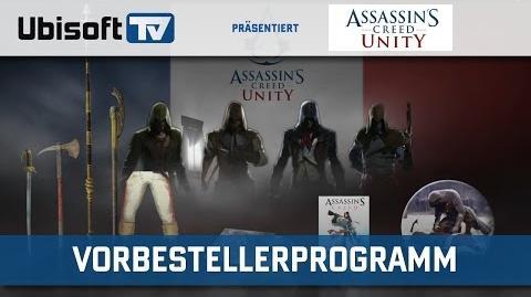 Assassin's Creed Unity - Vorbestellerprogramm Ubisoft DE