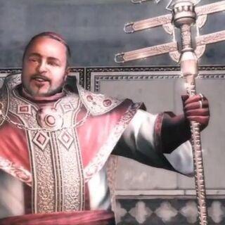 <b>Rodrigo</b> utilisant le Bâton papal, un Fragment d'Eden