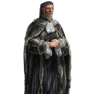 Original concept art for Jacopo de'Pazzi