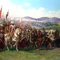 穆罕默德二世披挂亲征
