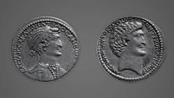 DTAE Tetradrachm of Cleopatra and Mark Antony