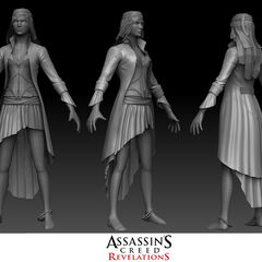 Early texture models of the Corsair