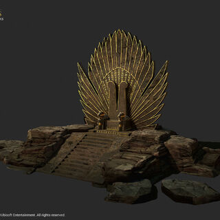 拉美西斯王座的模型