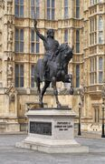 Richard Lionheart statue