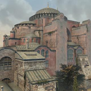 圣索菲亚大教堂的特写