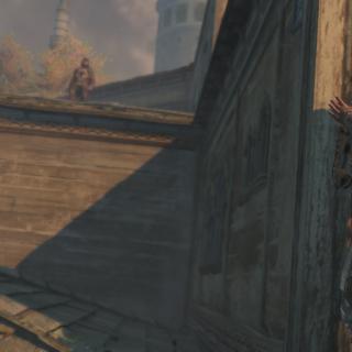 Yusuf kijkt naar de Tempelier