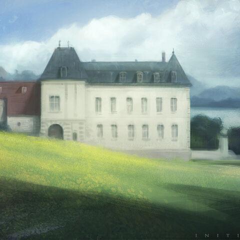 Le château de Champagne où le jeune Kenway reçut sa formation de Templier